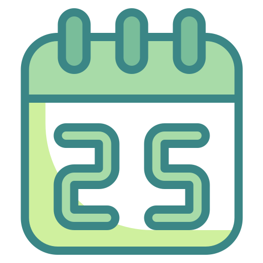 appointment, calendar, christmas, date, day, time, xmas icon