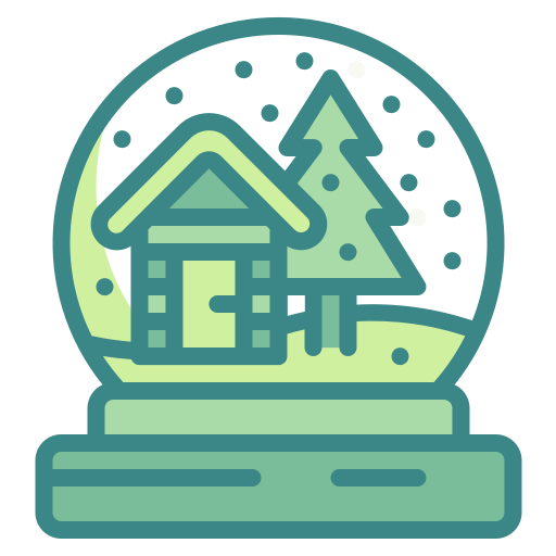 Christmas, ornament, snow, tree, globe, cycle icon - Free download
