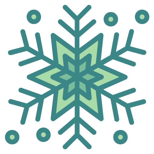 christmas, cold, nature, snow, snowflake, weather, winter icon