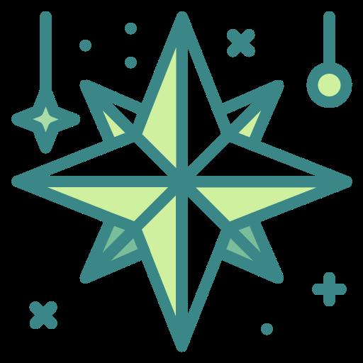 Adornment, christmas, decoration, star, xmasg8vo icon - Free download