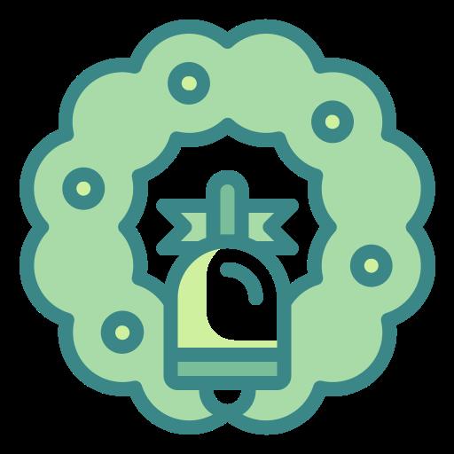 adornment, bow, christmas, decoration, ornament, wreath icon