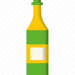 alcohol, beverage, bottle, celebration, champagne, drink, party icon