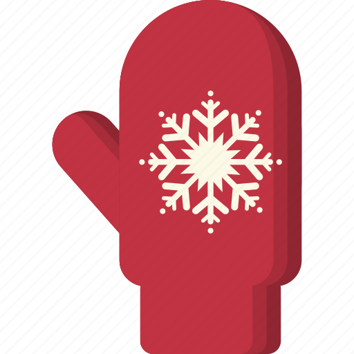 Christmas, cold, glove, mitten, snowflake, winter, xmas icon - Download on Iconfinder
