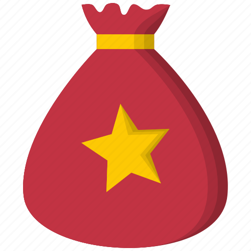 bag, christmas, gift, present, santa, xmas icon