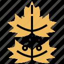 leaves, leaf, xmas, christmas, mistletoe