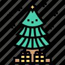 celebrating, christmas, merry, tree, xmas