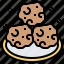 bakery, cookies, dessert, food, snack