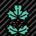 christmas, leaf, leaves, mistletoe, xmas