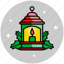 candle, christmas, fire, flame, lamp, lantern
