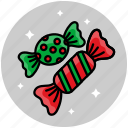 candy, christmas, christmas candy, sweets icon