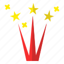 christmas, fireworks, holiday, new year, winter icon