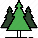 christmas, nature, plant, snow, tree, winter, xmas icon