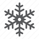 ice, deoration, merry, christmas, frost, snow, snowflake icon