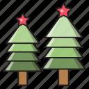 decoration, christmas, tree, celebration, green