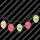 bulbs, lights, decoration