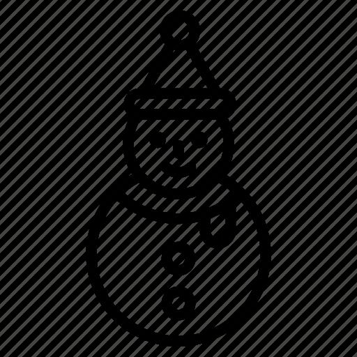 Snowman, christmas, winter, snow, xmas, decoration, celebration icon - Download on Iconfinder
