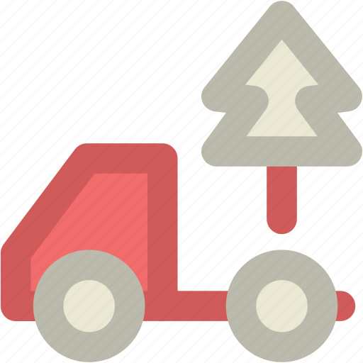 Delivery truck, planting service, shipping truck, tree, tree delivery icon - Download on Iconfinder
