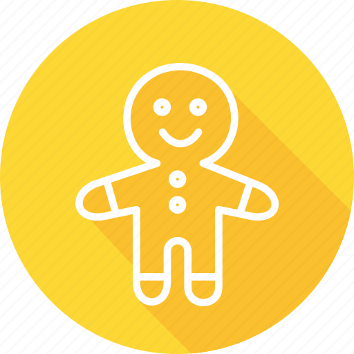 christmas, festival, gingerbread, holiday, vacation icon