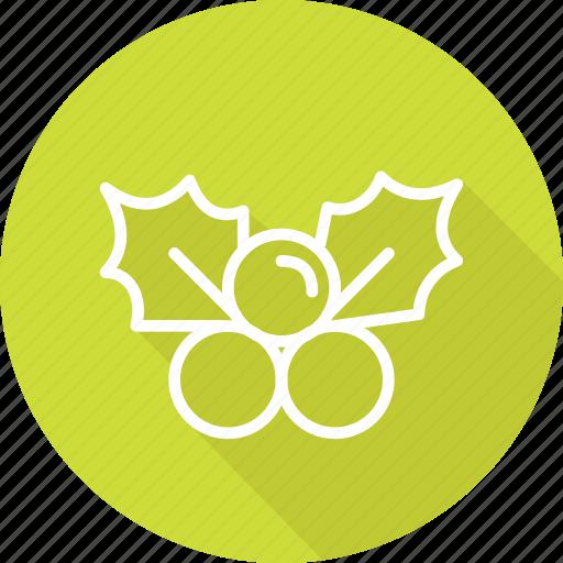 christmas, festival, holiday, mistietoe, vacation icon