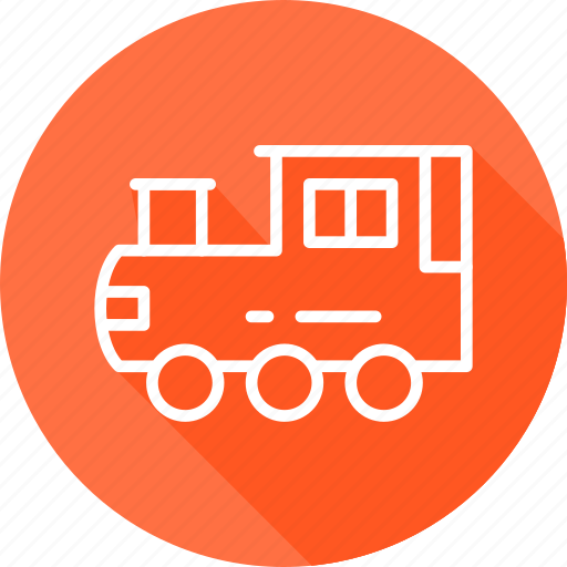 christmast, festival, holiday, train, vacation icon