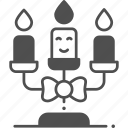 candle, decoration, celebration icon
