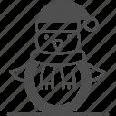 penguin, animal, winter icon