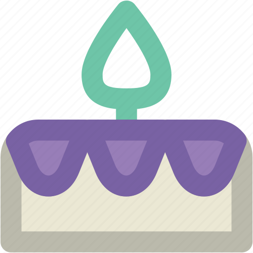 Anniversary, birthday cake, cake, cake with candles, candles, celebration icon - Download on Iconfinder