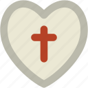 favorite sign, favourites, heart, heart shape, holy cross, likes, love icon