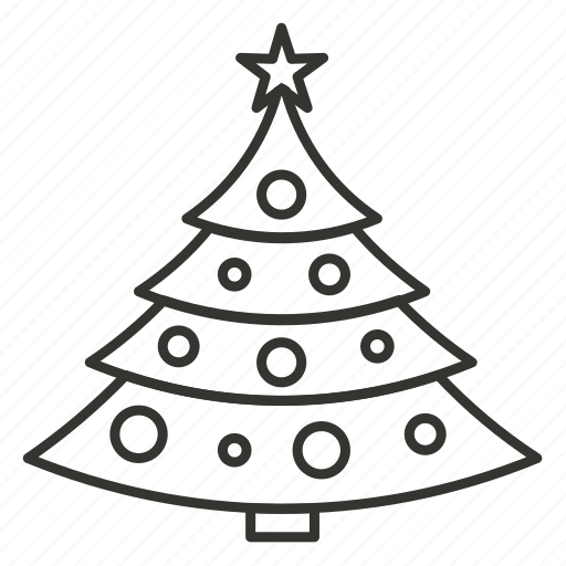 christmas, christmas tree, decoration, nature, tree, winter, xmas icon