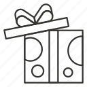 box, christmas, gift, open, package, present icon