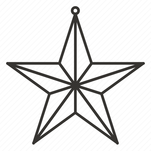 Christmas, decoration, kremlin star, new year, ny, russia, star toy icon - Download on Iconfinder