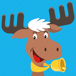 animal, christmas, deer, holiday, reindeer, rudolph, xmas icon