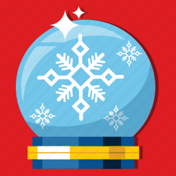blizzard, christmas, season, snowglobe, star, winter, xmas icon