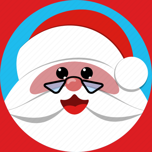 Christmas, claus, hat, holiday, face, saint nick, santa claus icon - Download on Iconfinder