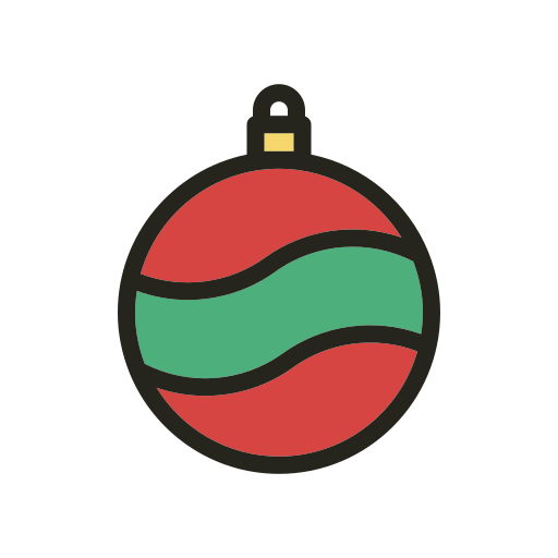 ball, christmas, christmas tree, holidays icon