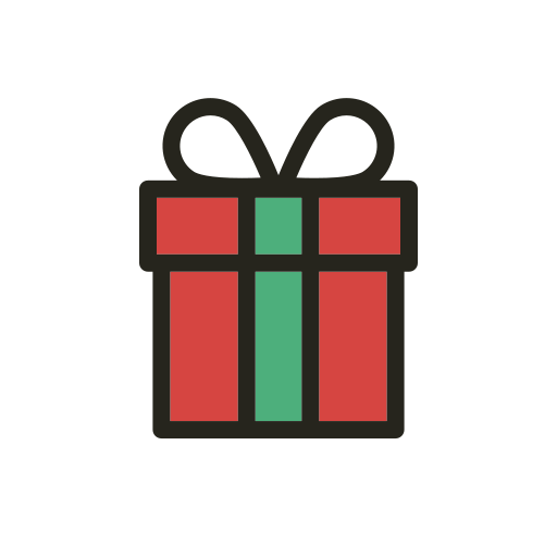 christmas, gift, holidays, party, present icon