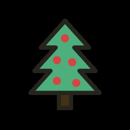 christmas, christmas tree, holidays, tree icon