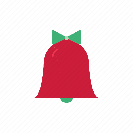 bell, bow, christmas, christmas bell, christmas decoration, color, ring icon