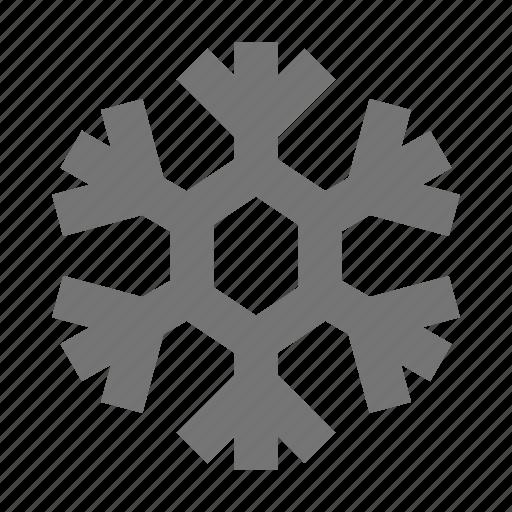 snow, snowflake, winter icon