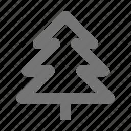 christmas, garden, holiday, nature, tree, winter, xmas icon