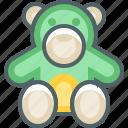 bear, gift icon