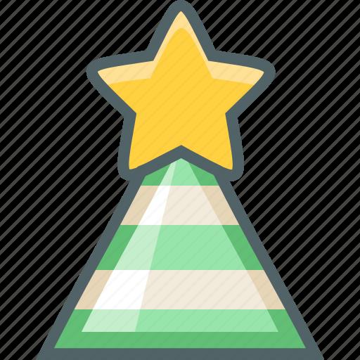 cone, hat icon