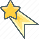 ribbon, star icon
