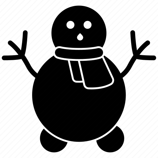 Christmas, man, sculpture, snow, snowman, snowperson icon - Download on Iconfinder