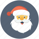 cartoon, claus, santa icon icon