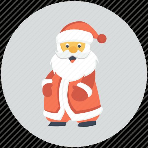 christmas, claus, santa, xmas icon icon