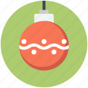 ball, christmas, decoration, xmas icon icon