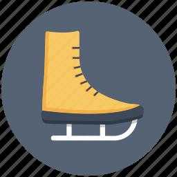 ice skating shoes, shoes, skating, skating shoes, sports icon, • ice skating icon