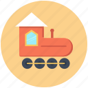baby, railroad, toy, train icon icon