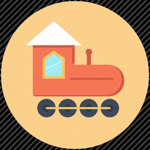baby, railroad, toy, train icon icon